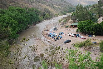 Arroyo Seco Municipality - Camping by the Ayutla River