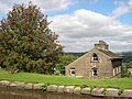 Canalside Cottage with Rowan Tree, Marple, Cheshire - geograph.org.uk - 569427.jpg