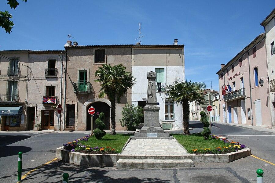 Canet (Hérault) - monument aux morts.