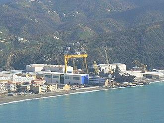 Fincantieri - Image: Cantieri Riva Trigoso