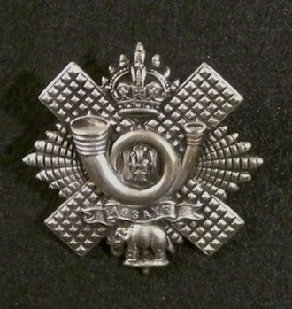 Highland Light Infantry - Cap Badge of the Highland Light Infantry