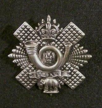 Highland Light Infantry - Cap Badge of the Highland Light Infantry