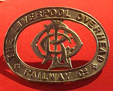 Cap badge from the Liverpool Overhead Railway.jpg