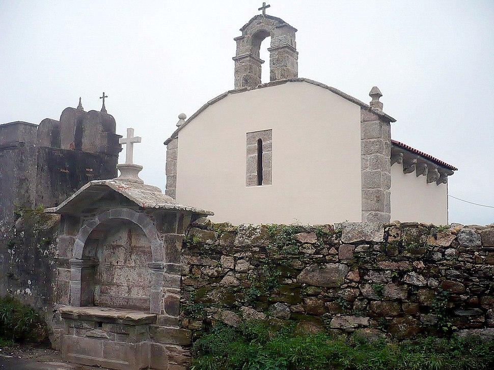 Capela de San Antón, Barro, Noia