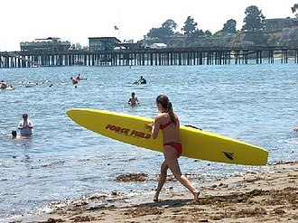 Capitola, California - Beach at Capitola