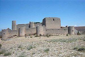 Vista de conjunto del Castillo de Caracena