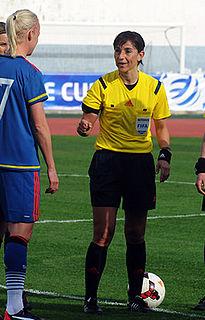 Carina Vitulano Italian footballer and referee