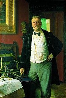 Danish brewer, art collector and philanthropist