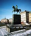 Carl XIV John of Sweden statue 2007 Stockholm.jpg