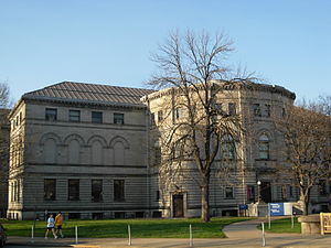Carnegie Library of Pittsburgh. Back.