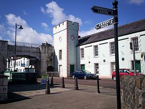Carnlough - Image: Carnlough street N Ireland (2)