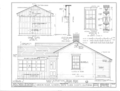 Carson House, 21570 Almaden Road, New Almaden, Santa Clara County, CA HABS CAL,43-ALMA,2- (sheet 5 of 11).png