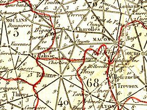 Cart Bourgogne 1830