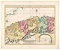 Cartografie in Nederland, kaart van Algerije met 1 bijkaart, NG-501-56.jpg