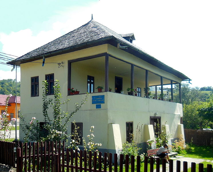 Fișier:Casa memorială George Topîrceanu din Nămăești.JPG