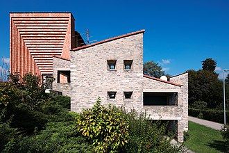 Mario Botta - Image: Casa parrocchiale Genestrerio