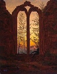 Caspar David Friedrich: Ruins of the Oybin