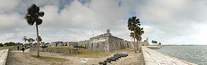 Castillo de San Marcos pano1