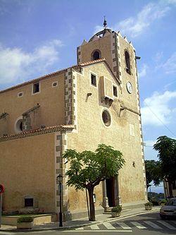 Catalonia-SantVicençDeMontal Parroquia.JPG