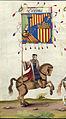 Catalonian flag in Emperor Maximilian triumphal.jpg