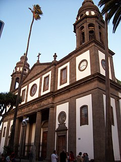 La Laguna Cathedral Church in Tenerife, Spain