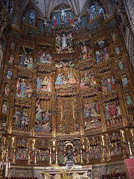 Archivo:Catedral de Toledo.Altar Mayor.JPG