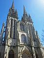 Cathédrale Saint-Corentin de Quimper (Façade ouest).jpg
