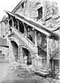 Cathédrale Saint-Etienne - Salle capitulaire, Escalier de la façade - Meaux - Médiathèque de l'architecture et du patrimoine - APMH00013926.jpg