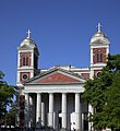 Cathedral Basilica of the Immaculate Conception is a cathedral serving Roman Catholics in Mobile, Alabama.jpg