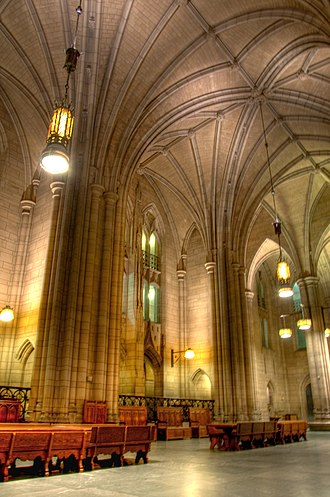 Nationality Rooms - Rooms ring the three-story Gothic hall, named the Commons Room, in the Cathedral of Learning