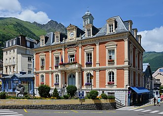 Cauterets - The town hall of Cauterets
