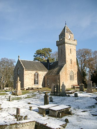 Renaissance in Scotland - Cawdor church, built in 1619 on a Greek cross plan