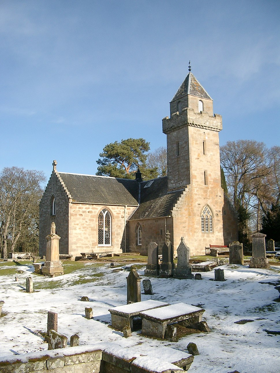 Cawdor Church - geograph.org.uk - 1720005