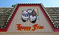 Cedar Point Happy Friar sign (14852024733).jpg