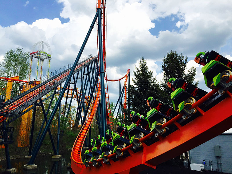 mantis roller coaster