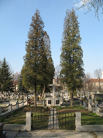 Mogiła Abbey - Image: Cemetery in Mogiła by Maire 7