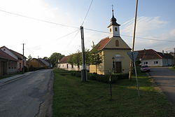 Center of Jiratice, Třebíč District.JPG