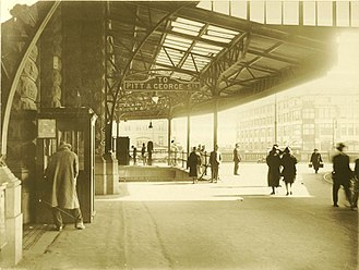 Railways in Sydney - Central railway station in 1924.
