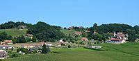 Centre du village de Balansun.JPG