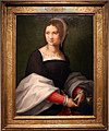 Cerchia di andrea del sarto, ritratto di donna, 1518 ca.jpg