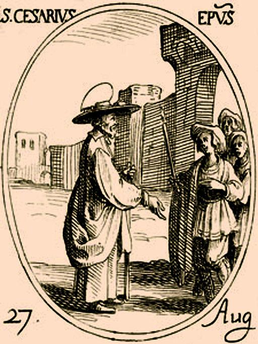 Cesaire et sa soeur Césaria