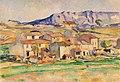 Cezanne - Mont Sainte-Victoire and Hamlet Near Gardanne.jpg