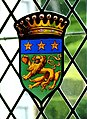 Château de Marqueyssac (Vézac) - Esszimmer 2a Wappen.jpg