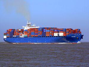 Chaiten p4 approaching Port of Rotterdam, Holland 08-Mar-2007.jpg