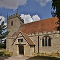 Chalgrove StMaryV SouthPorch WestTower.jpg