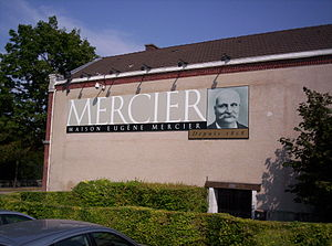 Champagne Mercier - The main facilities of Champagne Mercier.