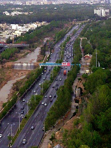 Chamran Blvd in Shiraz - Shiraz