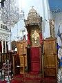 Chania - Kathedrale - Bischofsstuhl.jpg