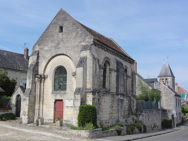 Chapelle de l'ancien prieuré de Saint-Ouen à Condé-sur-Aisne