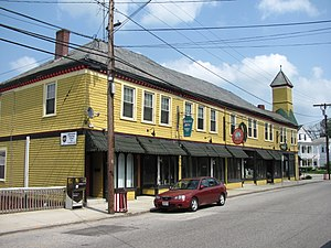 National Register of Historic Places listings in Worcester County, Massachusetts - Image: Chapin Block, Southbridge MA